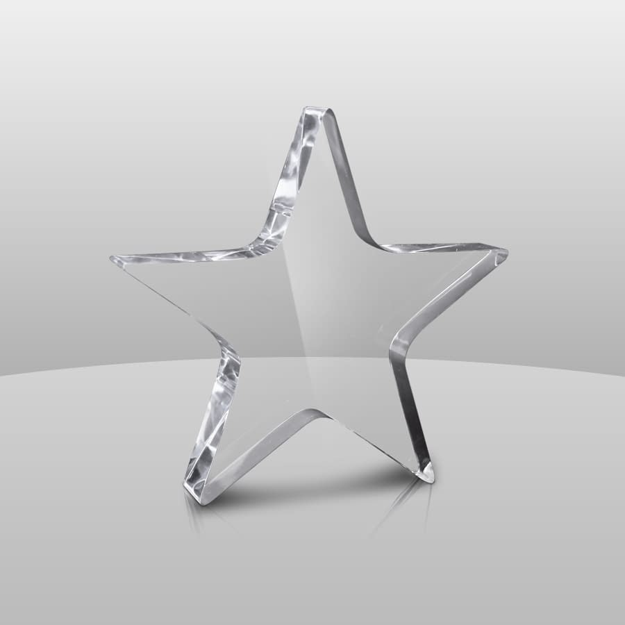 Clear Star Paperweight | A632S