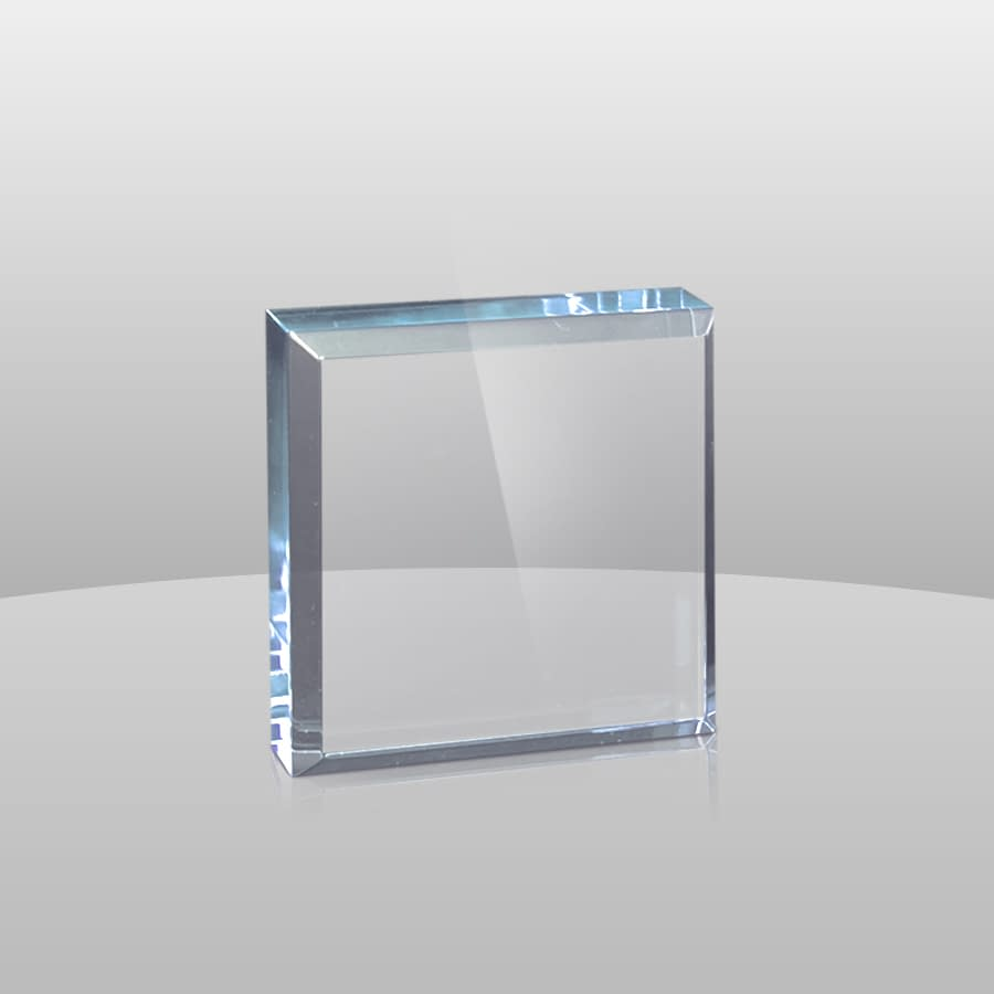 Blue Square Paperweights | BSPW2, BSPW3, BSPW4